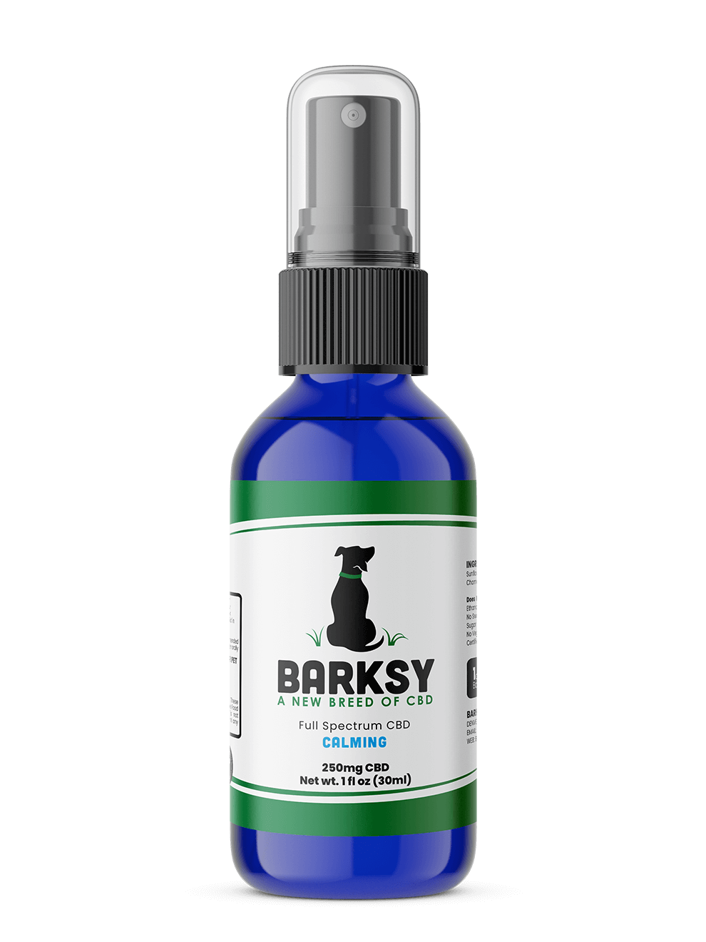 Bottle - Barksy - Non-Flavor - Calming