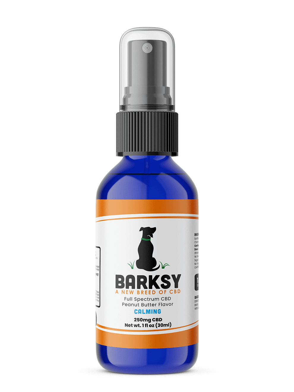 Bottle - Barksy - Peanut Butter - Calming
